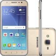 """Smartphone Samsung Galaxy J5 Duos SM-J500M/DS Tela 5"""" 16GB 4G Wi-Fi Câmera 13MP - Dourado"""