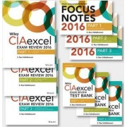 Wiley CIAexcel Exam Review 2016: Complete Pack by S. Rao Vallabhaneni