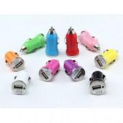 USB nabíječka do auta barevná, Barva Tmavě fialová