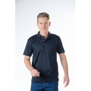 Poloshirt mit Knopfleiste, Farbe marine, Gr. M