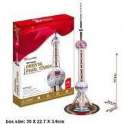 CubicFun 3D Puzzle The Oriental Pearl Tower - Shanghai