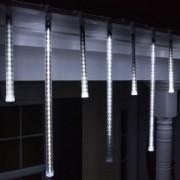 LED Olvadást imitáló csepegő jégcsap 50cm hideg fehér