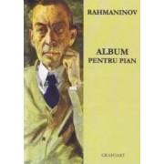 Album pentru pian + Cd - Rahmaninov