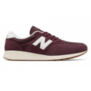 New Balance Men's 420 Re-Engineered Suede Red with White