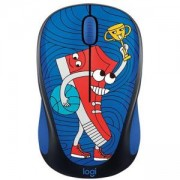 Мишка Logitech Doodle Collection - M238 Wireless Mouse - SNEAKER HEAD, 910-005050