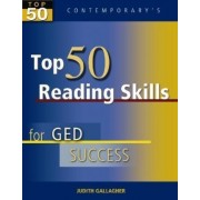 Top 50 Reading Skills for GED Success, Student Text Only by Judith Gallagher