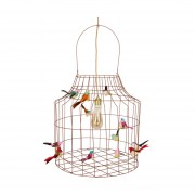 Dutch Dilight Vogeltjes Hanglamp Brons Large