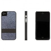 Case Logic Glitter or Carbon Fiber Cases for iPhone 4 and iPhone 5 (iPhone 5 Gray Glitter)