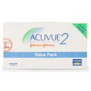 Johnson & Johnson ACUVUE2 Value Pack (12 Lenses/box)