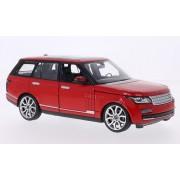 Land Rover Range Rover, rojo, Modelo de Auto, modello completo, Rastar 1:24