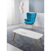items-france COSY - Table de salon en bois blanc