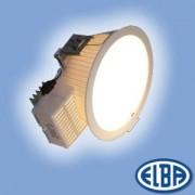 Beépíthető spot lámpa PSFL 07 12,4W D LED 3700K fehér müanyag fényterelő IP20 Elba