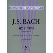 Six Suites For Violoncello Solo by Johann Sebastian Bach