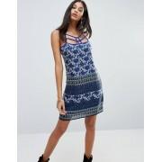 Raga Платье на бретельках с ремешками Raga Morning Glory - Синий