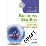 Cambridge IGCSE Business Studies Study and Revision Guide by Karen Borrington