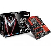 Asrock B150 Gaming K4 Scheda Madre, Nero/Rosso