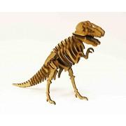 Tyrannosaurus Rex, Wood Models, puzzle 3d, 27 x 19 cm