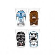 Copos de Tequila Shot Personagens Star Wars - 4 pecas
