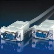 ROLINE 11.99.6233 :: RS-232 сериен кабел D9 M/F, 3.0 м, 9 проводника, сглобяем, удължителен