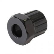 Silverline Kassetten-Schlüssel Werkzeug Einsatz gehärteter Werkzeugstahl schwarz