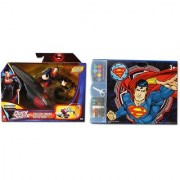 Man Of Steel Quick Shots Cruiser Smash Battle Pack Figures Drawing Coloring Set.