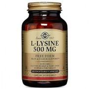 Solgar L-Lysine Vegetable Capsules 500 mg 100 Count