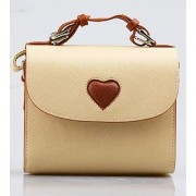 Woodmin Fuji film Instax Mini Camera Bag Love Bag for fujifilm INSTAX Mini 7s Mini 8 mini 25 Mini 50s Mini 90---White