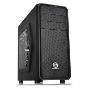 Thermaltake - Torre per PC fisso Versa H25 con USB 3, finestra laterale e ventola da 12 cm, colore: nero