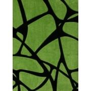 Koberec Fushe zeleno černá