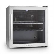 Klarstein Beersafe L nevera 50 litros clase B puerta de vidrio acero inoxidable