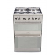 Smeg Concert SUK62MX8 Dual Fuel Cooker - Stainless Steel