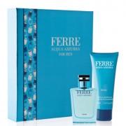 Gianfranco Ferre Acqua Azzurra комплект 2 части за мъже - 50 мл