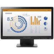 "Monitor TN LED HP 19.5"" ProDisplay P202va, Full HD (1920 x 1080), VGA, DisplayPort, 8 ms GTG (Negru)"