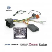 COMMANDE VOLANT Volkswagen SCIROCCO 2008- FAKRA - Pour Alpine complet avec interface specifique