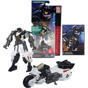 Hasbro Year 2014 Transformers Generations Combiner Wars Series 4 Inch Tall Legends Class Robot Action Figure - Autobot Protectobot GROOVE with Collector Card (Vehicle Mode: Motorcycle)