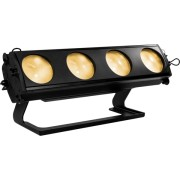 Light array fixture, 4 3000K WW LEDs with amber-shift