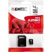 Card Memorie Emtec MicroSDHC 4GB + Adaptor SD ecmsdm4ghc4