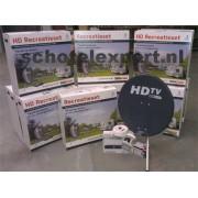 Complete Camping satellietset Recreatieset HD CanalDigitaal