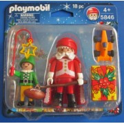 PLAYMOBIL 5846 - Santa Claus & Elf & Accessories