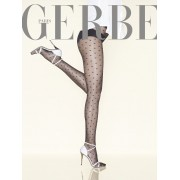 Gerbe - Exclusive subtle diamond pattern tights Parisienne