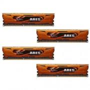 G.Skill F3-1600C10Q-32GAO Mémoire DDR3-RAM 32 Go 1600 MHz, 240 pôles, 4 x 8 Go
