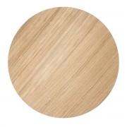 ferm Living - Wire Basket Top Large, oiled oak