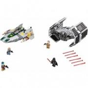LEGO® Star Wars™ TIE Advanced al lui Vader contra A-Wing Starfighter 75150