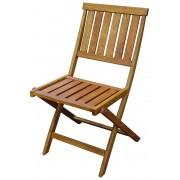 Kerti szék fából, összecsukható