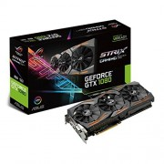 Asus GeForce GTX 1080 ROG STRIX-GTX1080-8G-Gaming GTX Scheda Grafica da 8 GB, DDR5X