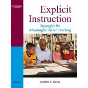 Explicit Instruction by Jennifer L. Goeke