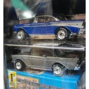 MATCHBOX PREMIERE FIRST EDITION CHEVY BEL - AIR LIMITED 1 OF 25000 1 PAINTED 1 BARE METAL