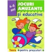 Jocuri amuzante si educative pentru prescolari 4-6 ani