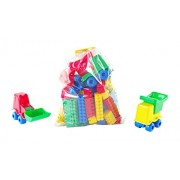 Hemar 14 x 17 cm K1 Building Blocks in Big Packet (82 pezzi)