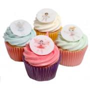 48 Fairy Princess Decorations- Beautiful Edible Cake Decorations